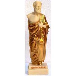 Statua di Ippocrate in resina cm 23