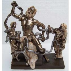 Statua di Laocoonte in resina cm 22.5