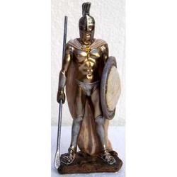 Statua di Leonida in resina cm 13