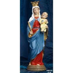 Statua Madonna Ausiliatrice cm 40 in Porcellana