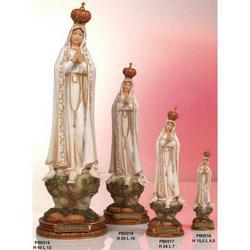 Statua Madonna di Fatima da cm 33 in resina