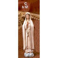 Statua Madonna di Fatima cm 12 in resina