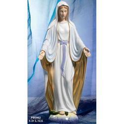 Statua Madonna Immacolata Miracolosa cm 31 porcellana