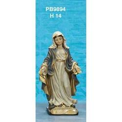Statua Madonna Immacolata cm 14 in resina