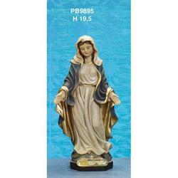 Statua Madonna Immacolata cm 19.5 in resina
