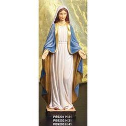 Statua Sacra della Madonna Immacolata cm 20 resina