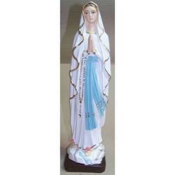 Statua Madonna di Lourdes in resina cm 30