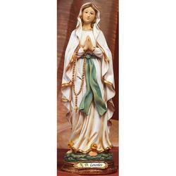 Statua Sacra della Madonna di Lourdes cm 22 resina