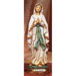 Statua Madonna di Lourdes cm 42 in resina