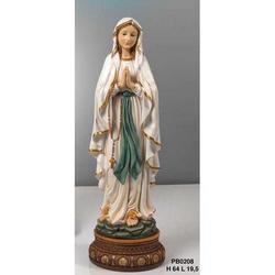 Statua Madonna di Lourdes cm 64 in resina