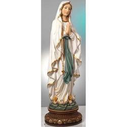 Statua Madonna Lourdes in resina cm 104