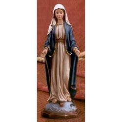 Statua Madonna Immacolata Miracolosa cm 20 resina