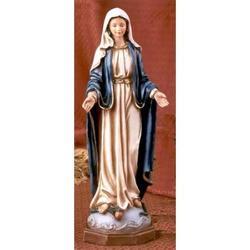 Statua Madonna Immacolata Miracolosa cm 30 resina