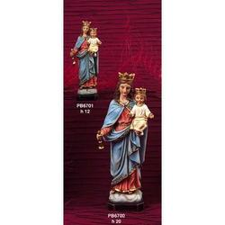 Statua Maria Ausiliatrice cm 12 in resina