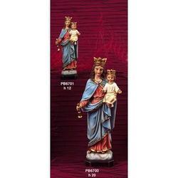 Statua Maria Ausiliatrice cm 20 in resina