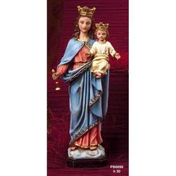 Statua Maria Ausiliatrice cm 30 in resina