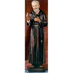 Statua Padre Pio 50 cm in resina