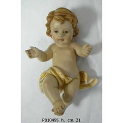 Statua Bambinello in resina cm 21
