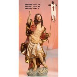 Statua Sacra del Cristo Risorto cm 30 in resina