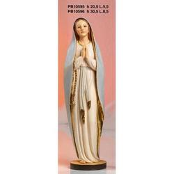 Statua Sacra della Madonna Immacolata cm 30.5 resina