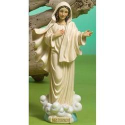 Statua Sacra Madonna Medjugorje in resina cm 31
