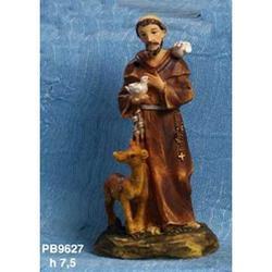 Statue Sacre di San Francesco cm 7.5 in resina