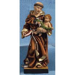 Statua Sant Antonio di Padova cm 14 resina