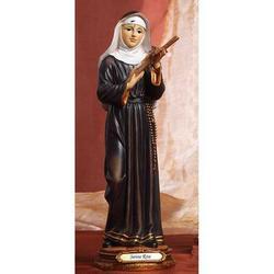 Statua Sacra di Santa Rita cm 22.5 in resina