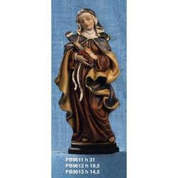 Statua Sacra di Santa Teresa cm 14.5 resina