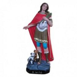 Statua San Vito in vetroresina cm 60
