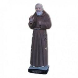 Statua San Pio da Pietrelcina in resina cm 26