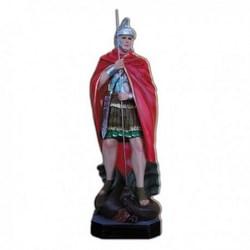 Statua San Giorgio in vetroresina cm 60