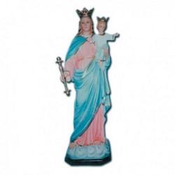 Statua Madonna Ausiliatrice in vetroresina cm 115