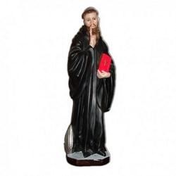 Statua San Benedetto in resina cm 40