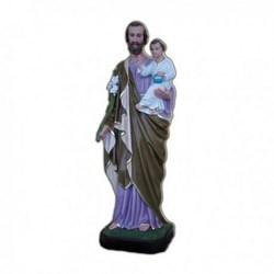 Statua San Giuseppe in vetroresina cm 70