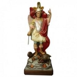 Statua San Michele Arcangelo con spada in vetroresina cm 90