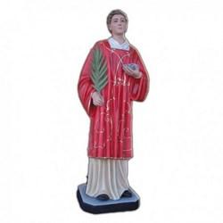 Statua Santo Stefano in vetroresina cm 110