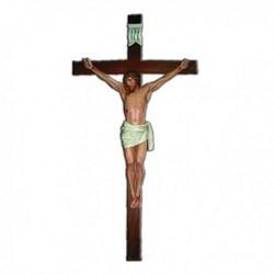 Corpo cm 190 in vetroresina, completa di croce in legno cm 400
