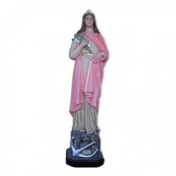 Statua Santa Filomena in vetroresina cm 100