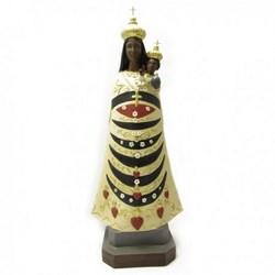 Statua Madonna di Loreto in vetoresina cm 50