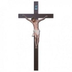 Corpo cm 80 in vetroresina, completa di croce in legno cm 180