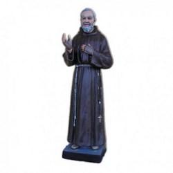Statua San Pio da Pietrelcina in vetroresina cm 82