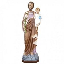 Statua San Giuseppe in vetroresina cm 130