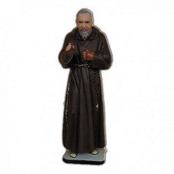 Statua San Pio da Pietrelcina in resina cm 30