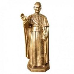 Statua Papa Giovanni Paolo II in vetroresina cm 135