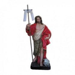 Statua San Giovanni Battista in vetroresina cm 150