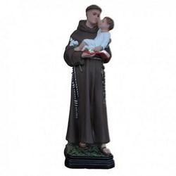 Statua Sant'Antonio da Padova in resina cm 40