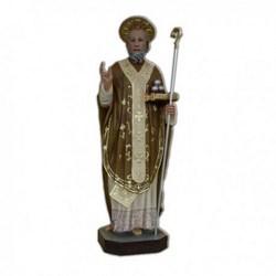 Statua San Nicola di Bari in vetroresina cm 85