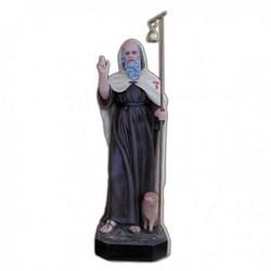 Statua Sant'Antonio Abate in vetroresina cm 80