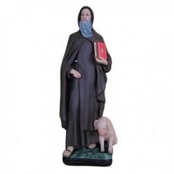 Statua Sant'Antonio Abate in resina cm 40